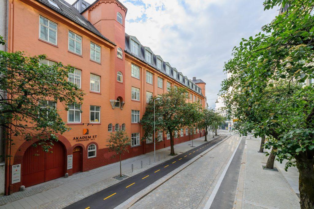 Bilde av Lars Hillesgate 17 fasade
